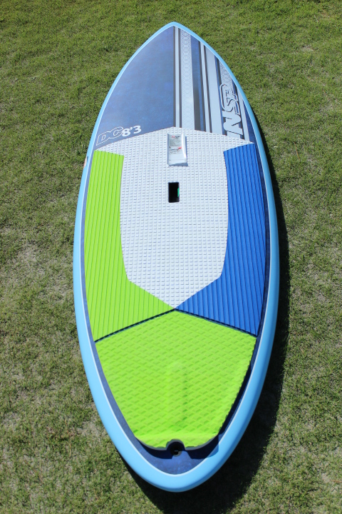 "2017 NSP DC SURF WIDE ;SURF SUP ;8'3"" x 32""x 4 5/8""  138.2L ;BLUE"