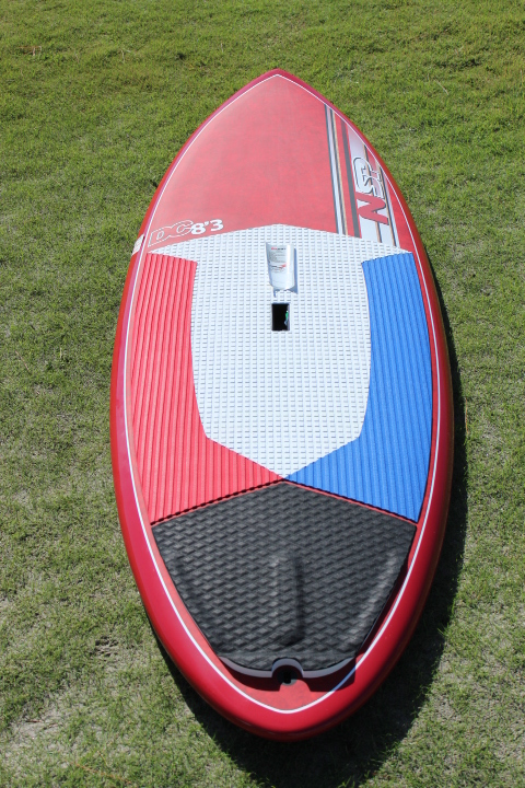 "2017 NSP DC SURF WIDE ;SURF SUP ;8'3"" x 32""x4 5/8""  138.2L ;RED"