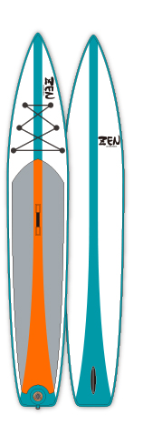 "ZEN TOURING RACE ;INFLATABLE ;12.6""x 30""x 6"" ;"