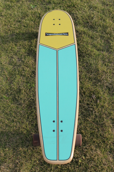 "HAMBOARD (USED) HUNTINGTONHOP 3'9"" SKATE 3'9"""