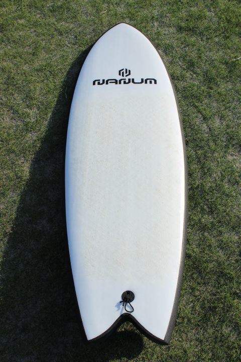 "2018 NANUM (USED)QUAD FISH SOFTBOARDS 5'6""x 21""x 2.95""  45.0L"