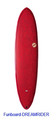 "2019 NSP COCOMAT ;FUNBOARD DREAMRIDER ;7'2""x21""x 2 1/2""  42.4L ;Red"
