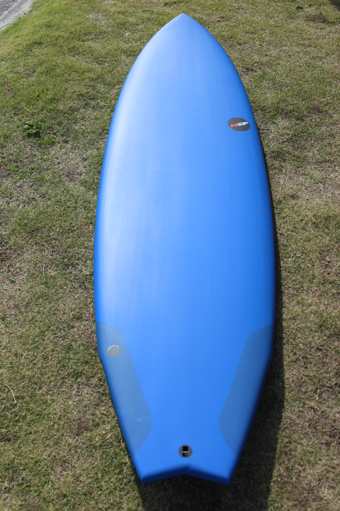 "2019 NSP PRO TECH ;FISH ;6'4"" x 21"" x 2 1/2"" 40.2L ;BLUE"